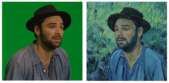 Aiden Turner is Van Gogh