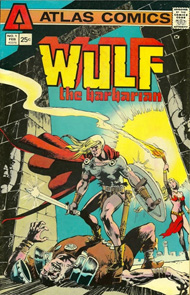 Wulf the Barbarian first issue